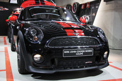 Mini John Cooper Works Coupé Stock Images
