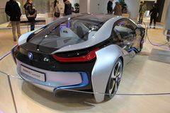 BMW i8 electric concept car Royalty Free Stock Photography