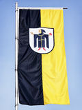 Munich flag Stock Photography