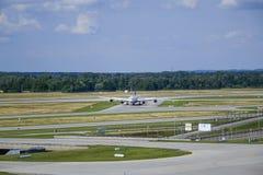 Munich flygplats, Bayern, Tyskland arkivfoto