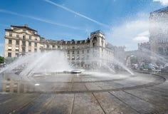 Munich Fountain Stock Photography