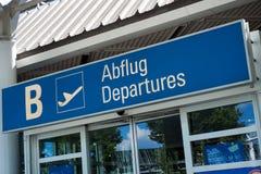 Munich Franz Josef Strauss Airport Stock Image