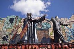 Munich, Frühlingsfest, atracción del horror Fotos de archivo