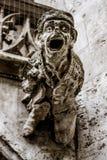Munich Gargoyle - Close Up View royalty free stock photography