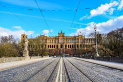 Munich. In Germany stock photography