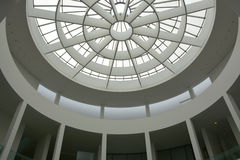 Munich, Germany - 1 Aug 2015 : Pinakothek der Moderne atrium, a modern art museum, situated in the city centre of Munich. The Pinakothek der Moderne is a modern Stock Images