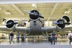 Munich, Germany 31 August 2014: Ju-52/3M. Stock Photos