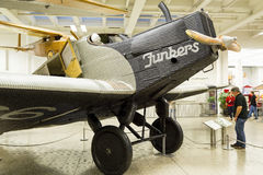 Munich, Germany 31 August 2014: Junkers F.13. Royalty Free Stock Photo