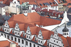 Munich. Germany. Bavaria, view from the top Royalty Free Stock Images