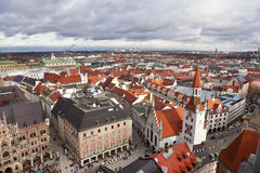 Munich. Germany. Bavaria, view from the top Royalty Free Stock Photo