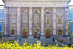Munich, Germany - Bavarian State Chancellery facade Stock Photos