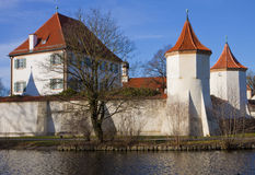 Munich, Germany: Blutenburg Castle, built on the banks of Wuerm Royalty Free Stock Image