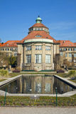 Munich, Germany - Botanical Garden central building detail with Stock Photography
