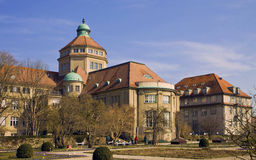 Munich, Germany - Botanical Garden main building Stock Photography