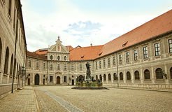 Munich, Germany - Brunnenhof - Fountain Courtyard, one of the te Royalty Free Stock Photo