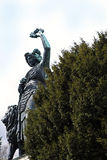 Munich, Germany - Colossal classical Bavaria bronze statue (1850). Munich, Germany - Bavaria bronze statue erected in 1850 , 18.52 (60 ft. 9 in.) metres high Stock Photos