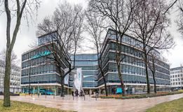 Munich , Germany - February 16 2018 : The new Siemens headquarter building is placed in the city of Munich Stock Image