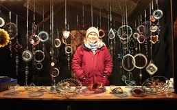 Munich, Christmas market at Residenz Kaiserhof Royalty Free Stock Images