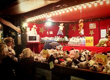 Munich, Christmas market at Residenz Kaiserhof Royalty Free Stock Photography