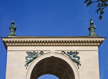 Munich, Germany - Hofgarten portal, architecural detail Stock Photography