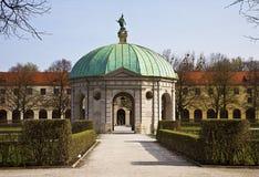 Munich, Germany - Hofgarten round pavillon Stock Image