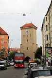 Munich Germany - Isartor Gate Royalty Free Stock Photo