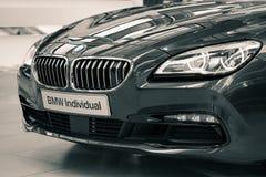 Prestigious deluxe edition of BMW Individual car Stock Photos