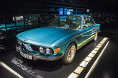 Munich, Germany- june 17, 2012: BMW 3.0 CSi Coupe Automobile on Royalty Free Stock Photos