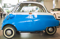 Munich, Germany- june 17, 2012: BMW Isetta Small Car on Show in Royalty Free Stock Photography