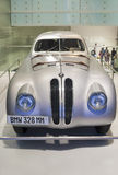 MUNICH -GERMANY, JUNE 17: BMW 328 MM race Shown in BMW Museum in Stock Photo
