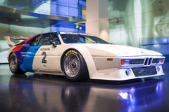Munich, Germany- june 17, 2012: BMW's Unique M1 Sportcar demonst Royalty Free Stock Photography