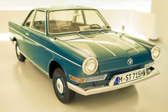 Munich, Germany- june 17, 2012: BMW 700-series Automobile on Sta Stock Photography