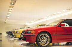 Munich, Germany- june 17, 2012: Row of Epochal 3rd series BMW's Stock Images