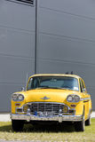 Munich, Germany - June 25,2016 Vintage American Yellow Taxi Cab Royalty Free Stock Photos
