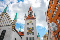 Munich-Germany-Old Town Hall Stock Image