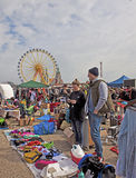 MUNICH Germany - Open air giant flea market Royalty Free Stock Images
