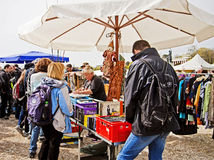 MUNICH Germany - Open air giant flea market Royalty Free Stock Photos