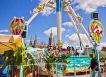 Munich, Germany, Spring Festival at Theresienwiese Royalty Free Stock Photos