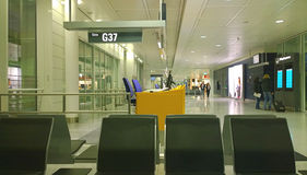Munich Germany - waiting area at gate Stock Photography