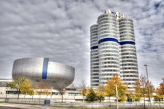 MUNICH - GERMANYOCTOBER 31: BMW building museum on June 31, 2014 royalty free stock images