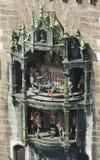 Munich Glockenspiel Stock Image
