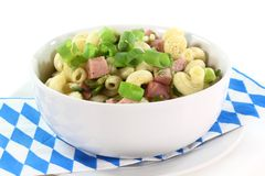 Munich ham pasta Royalty Free Stock Photography