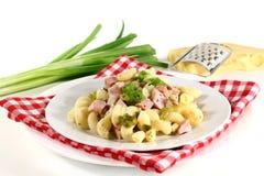 Munich ham pasta Stock Image