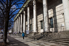 Munich, Haus der Kunst House of Art modern art museum, facade Stock Image