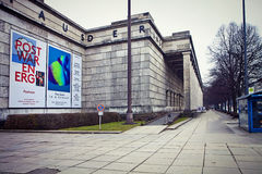 Munich, Haus der Kunst House of Art modern art museum Stock Photo