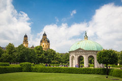 Munich Hofgarten Stock Images