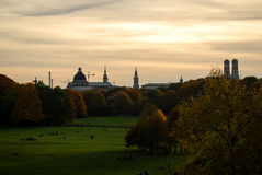 Munich horisont Royaltyfri Fotografi