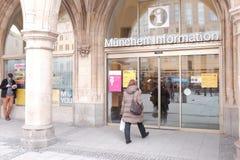 Munich information Arkivbilder