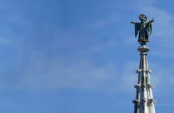 Munich Landmark, Münchner Kindl at the top of City Hall tower Stock Photography