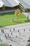Munich maraton Arkivbilder